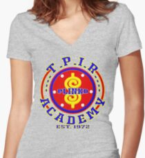 TV Game Show - TPIR (The Price Is...) Academy Women's Fitted V-Neck T-Shirt