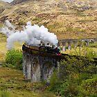 Glenfinnan Steam by Mark Baldwyn