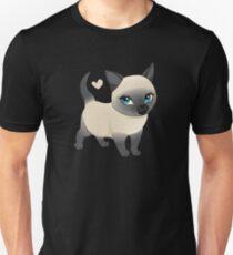 Siamese Cat Unisex T-Shirt