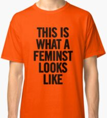 This Is What A Feminist Looks Like Tee TShirt iPhone Case (Black) Classic T-Shirt