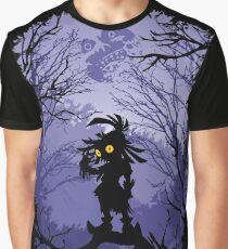 Camiseta gráfica Máscara de Zelda Majora Skullkid