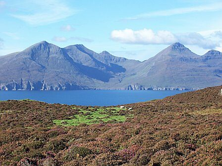 View from Eigg by fenner