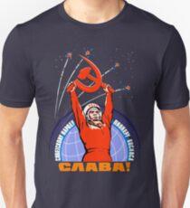 Soviet Propaganda. Yuri Gagarin Unisex T-Shirt