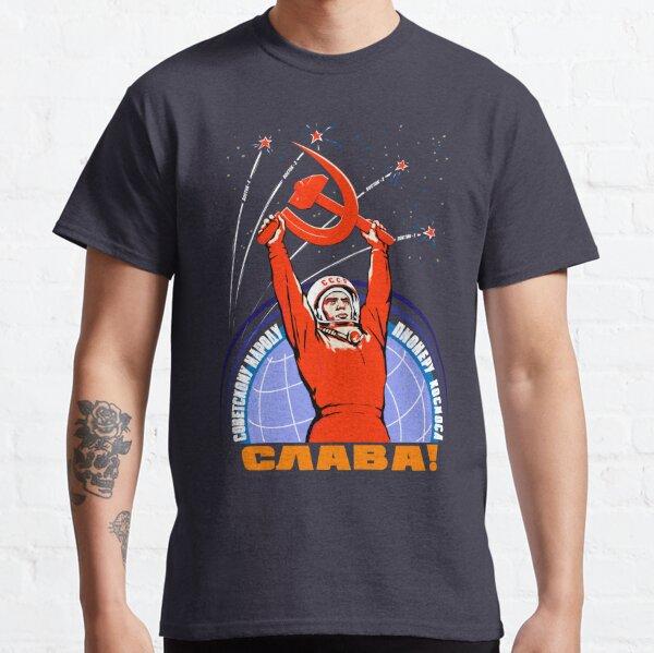 Soviet Propaganda. Yuri Gagarin Classic T-Shirt