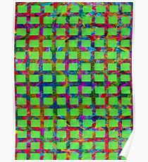 Multicolored Large Mesh Poster