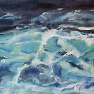 Kochende Nordsee von Christel  Roelandt