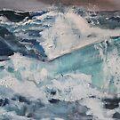 Wilde Wellen von Christel  Roelandt