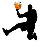 Basketball player scoring, Ball don't lie. by TOM HILL - Designer