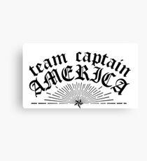 TEAM CAP Canvas Print