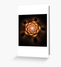 Between black holes Greeting Card