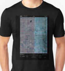 USGS TOPO Map Iowa IA Malcom 20100511 TM Inverted Unisex T-Shirt