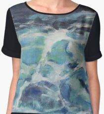 Boiling North Sea Chiffon Top