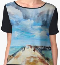 The Breakwater Chiffon Top