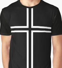 KOF Kyo Kusanagi Cross Graphic T-Shirt