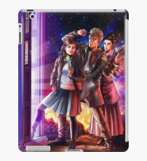 Doctor Who Back to the Future iPad Case/Skin