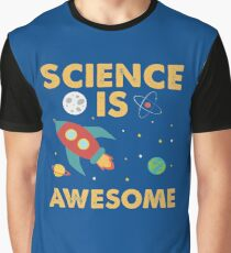 Science is Awesome Tee - Great Shirt for Young Scientists Graphic T-Shirt