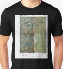 USGS TOPO Maps Iowa IA Pomeroy 20100427 TM Unisex T-Shirt