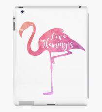 Watercolor Love Flamingos iPad Case/Skin