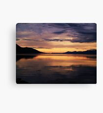 Ushuaia Harbour early morning light Canvas Print
