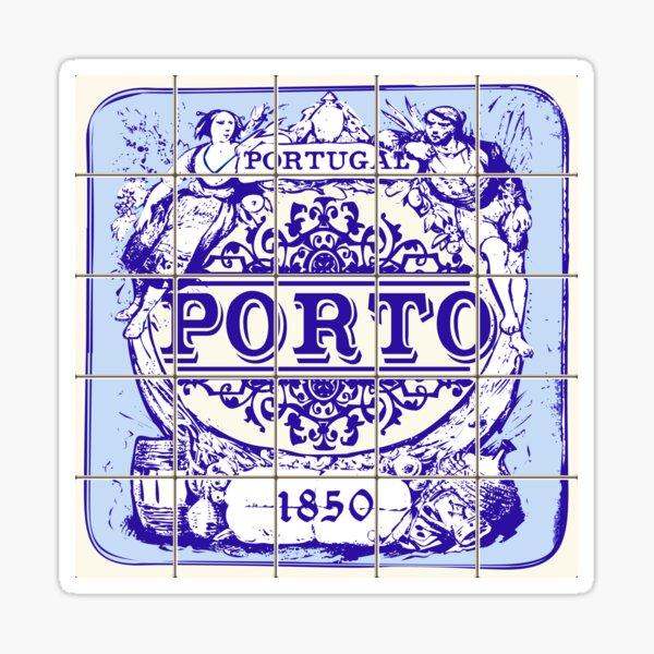 Azulejo Porto Lisbon Azulejos Lisboa Sticker