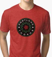 Camiseta de tejido mixto Espinas de Portland