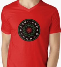 Portland Thorns Men's V-Neck T-Shirt