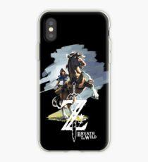 Vinilo o funda para iPhone Zelda Aliento de lo salvaje