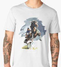 Zelda Breath of the Wild Men's Premium T-Shirt