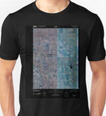 USGS TOPO Map Iowa IA Gladbrook SE 20100427 TM Inverted Unisex T-Shirt