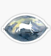 Northern Light Snowhare Sticker