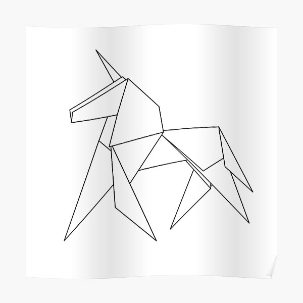 Gaff's Unicorn | Blade Runner Origami (LG8H4EVND) by AndromedaTradeCo | 600x600