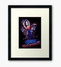 Weird Science Framed Print
