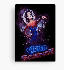 Weird Science Canvas Print