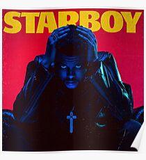 starboy tour 2017 Poster