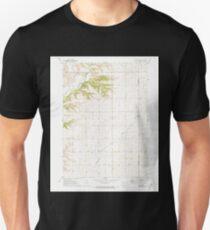 USGS TOPO Maps Iowa IA Peterson SW 175374 1971 24000 Unisex T-Shirt