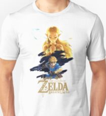 Zelda Breath of the Wild - The Silent Princess Unisex T-Shirt