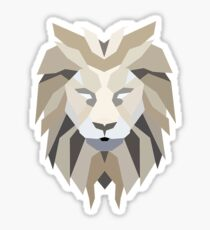 Lion Crest Sticker