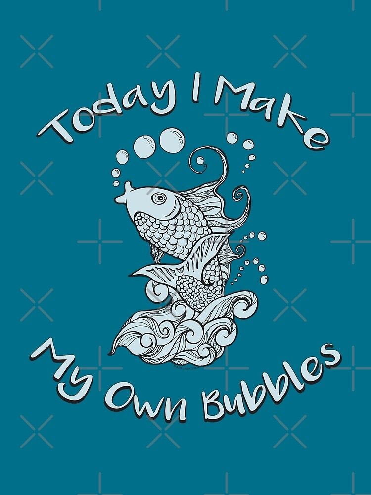 Koi Fish - Today I Make My Own Bubbles by jitterfly
