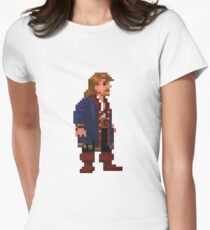 Guybrush Threepwood Womens Fitted T-Shirt