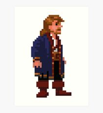 Guybrush Threepwood Art Print