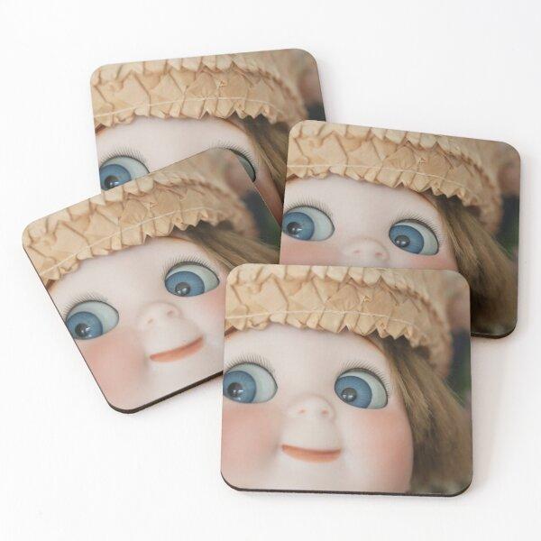 Googly Boy Coasters (Set of 4)