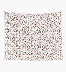 Sushi Lovers Pattern Wall Tapestry