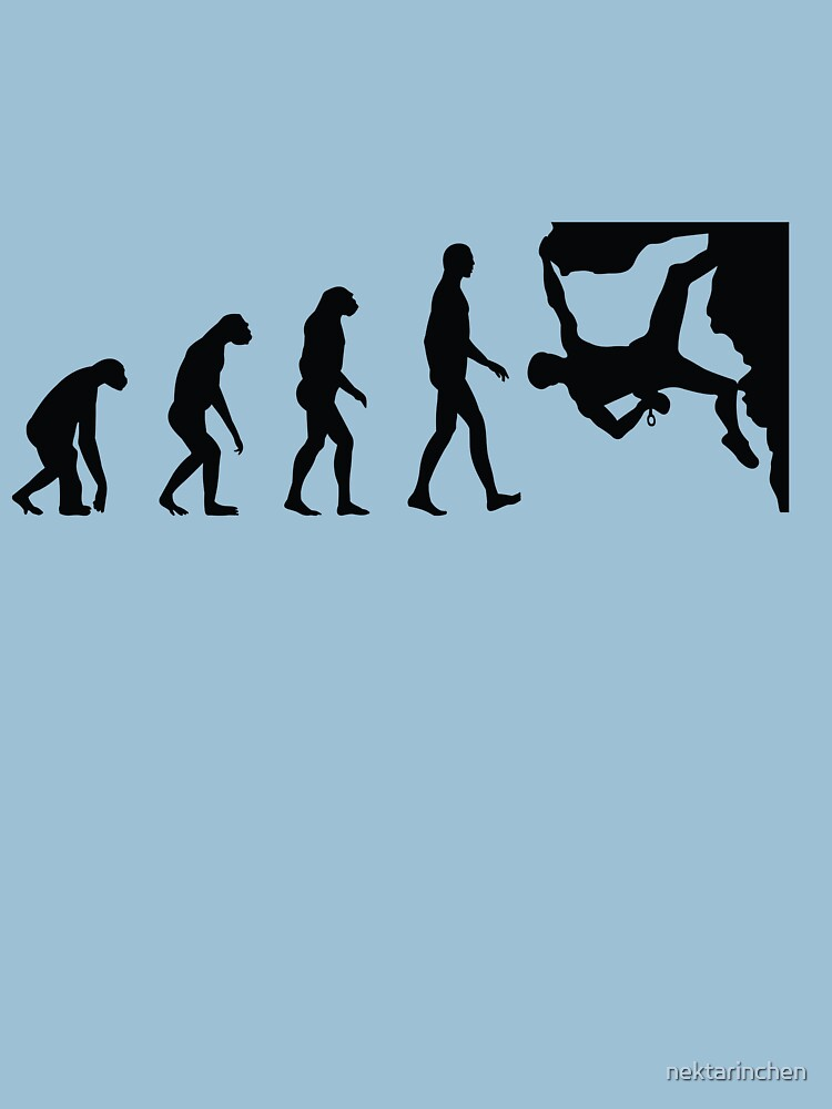 TShirtGifter presents: Evolution Climbing | Unisex T-Shirt