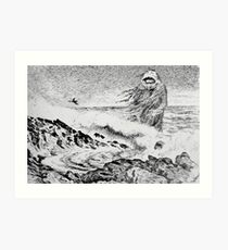 Theodor Kittelsen Sjøtrollet 1887 The Sea Troll Art Print