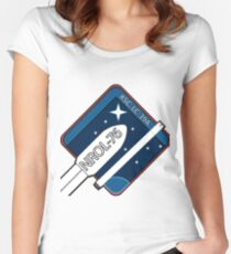 Mission Logo of NROL 76 Women's Fitted Scoop T-Shirt
