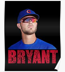 KRIS BRYANT - Chicago Cubs Poster