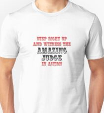 The Amazing Judge In Action Unisex T-Shirt