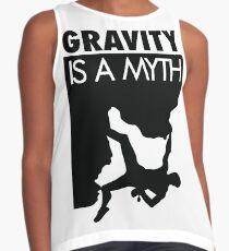 Blusa sin mangas La gravedad es un mito