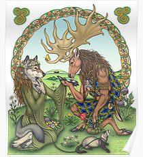 Celtic Kiss Poster