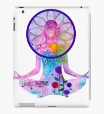 Zen Yoga Colorful Silhouette iPad Case/Skin